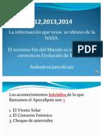 NASA El Fin de Los Tiempos