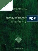 Russel - A nyugati filozófia története