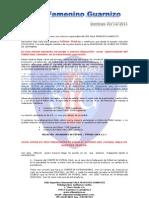 carta a los clubes de fútbol sala