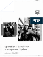 Chevron Operation Excellence