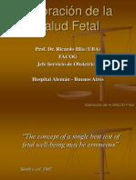Valoración de la salud fetal