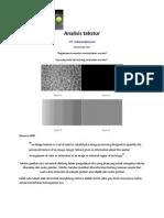 Analisis Tekstur