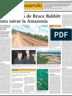 Propuesta ecológica para la Amazonía del Perú