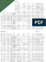 Referee Course Calendar