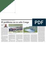 Problemas de Gestión Pública en Proyecto Minero Conga, Cajamarca Perú