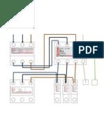 diagrama conexion caja