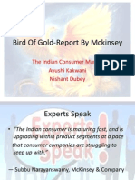 Bird of Gold-Report by Mckinsey Final