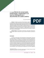 06 - NOÇÃO D CONSERVÇÃO DE DOCUMENTOS