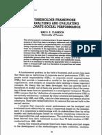Stakeholder Framework