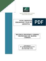"""Resumen ejecutivo del Proyecto """"MECÁNICA INDUSTRIAL CABRERA'"""