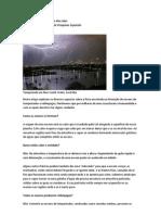 A física das tempestades e dos raios