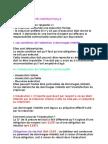 Droit Des Obligations - la responsabilité contractuelle