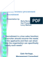 Human Resource Procurement
