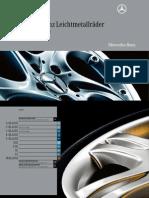 Mercedes-Benz Leichtmetallräder