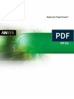 Ansys Hfss Brochure 14.0