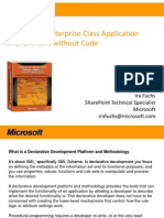 Creating Enterprise Class App in Share Point 2010 Without Code