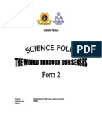 47246929 24641593 Science Folio Form 2 the World Through Our Senses