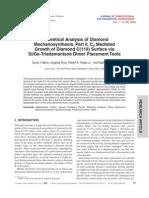 David J. Mann, Jingping Peng, Robert A. Freitas Jr. and Ralph C. Merkle- Theoretical Analysis of Diamond Mechanosynthesis. Part II. C2 Mediated Growth of Diamond C(110) Surface via Si/Ge-Triadamantane Dimer Placement Tools