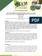 EDUCAÇÃO AMBIENTAL NO COTIDIANO EDUCACIONAL - O CASO DA ESCOLA DE ENSINO FUNDAMENTAL DOMINGOS ACATAUASSÚ NUNES - BELÉM - PARÁ
