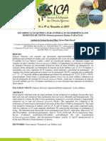 ESCARIFICAÇÃO QUÍMICA PARA SUPERAÇÃO DE DORMÊNCIA EM SEMENTES DE TENTO (Ormosia paraensis Ducke) FABACEAE