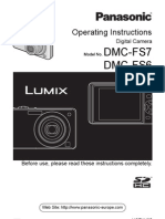 Lumix DMC-FS7 - Vqt1v85 [Same as Came With Camera]