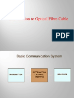 Introduction to Optical Fibre Cable
