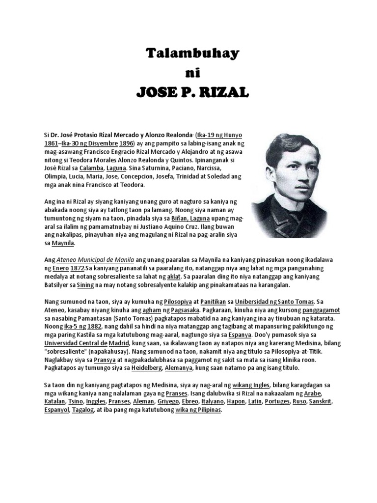 jose rizal an exemplary leader Dr jose rizal jose rizal is not only highly acclaimed up to this very time because of the exemplary literature we still he was a great leader.