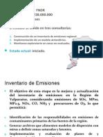 Estudio del aire en la Región de Valparaíso