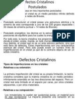 Defectos cristalinos 1