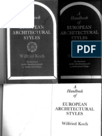 KOCH%2c a Handbook of European Architectural Styles[1]