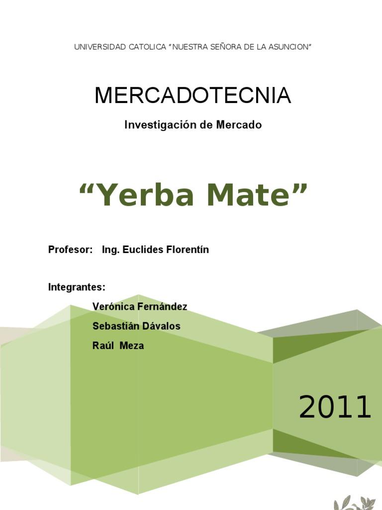 Circuito Yerba Mate : Trabajo practico yerba mate