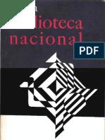 Revista Biblioteca Nacional n8 Dic 1974