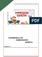 Cuadernillo de Composicion Escrita 11-12