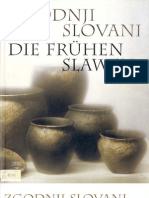 Zgodnji slovani/Die Frühen Slawen, Hrsg. M.Guštin