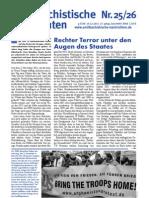 antifaschistische nachrichten 2011 #25/26
