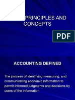 1basic Accounting Principles and Concepts