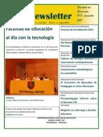 Facultad de Educación - Newsletter 8