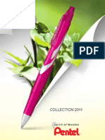 Pentel Catalogue France 2011