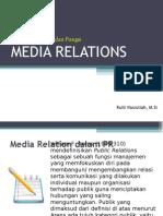 Definisi Media Relations
