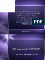 Introduction ISO 22000 b