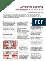 Scaner - CIS vs CCD