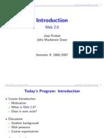 Introduction Web 2.0