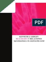 Gergen - Real Ida Des y Relaciones Cap 2
