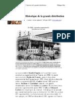 Historique de La Grande Distribution 1948-20071