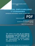 Inclusión y Ciudadanía en Cusco - Perú.