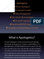 Apologetics World Religions(or Cults)