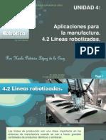 4.2 Líneas robotizadas