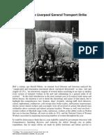1911 Liverpool General Transport Strike- NWTUC doc (Sam Davies + Ron Noon)