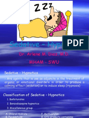 Sedative Hypnotics | Benzodiazepine | Medical Treatments