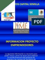 Proyectos Capital Semilla